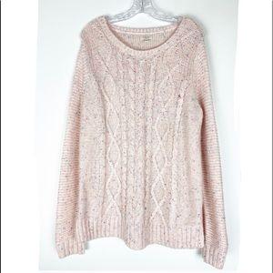 Sonoma LifeStyle Pink Confetti Oversized Sweater